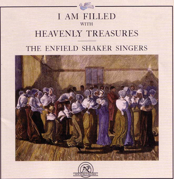 cover of the Shaker Singers' CD